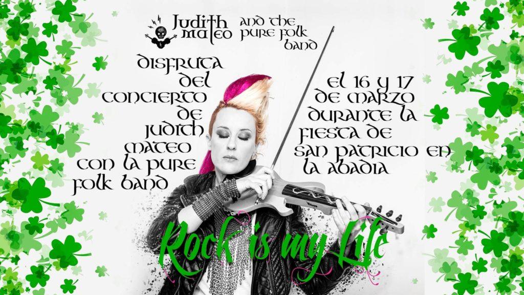 JUDITH MATEO con pure folk band